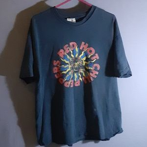 XL vintage roached Red Hot Chili Peppers T